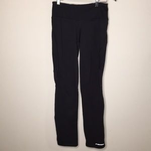 Brooks Running Pants Size Small Black back Pocket